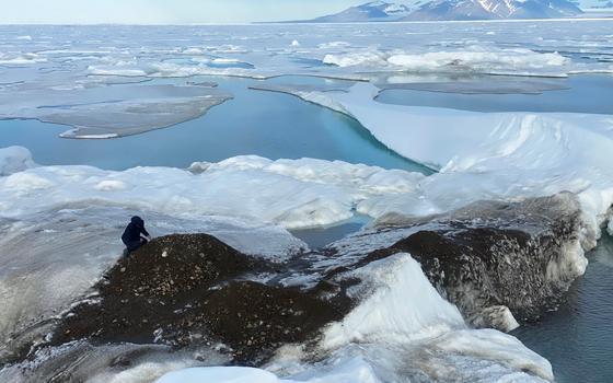 A descoberta da ilha mais ao norte do mundo
