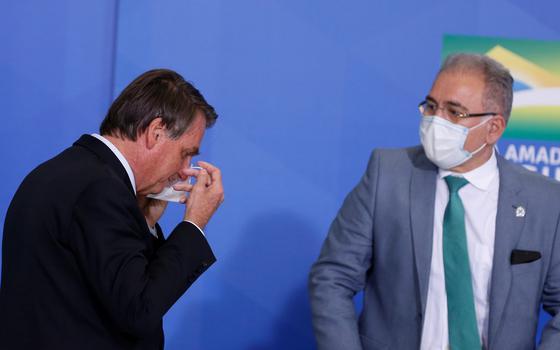 Bolsonaro recebe diagnóstico negativo para covid, diz Planalto