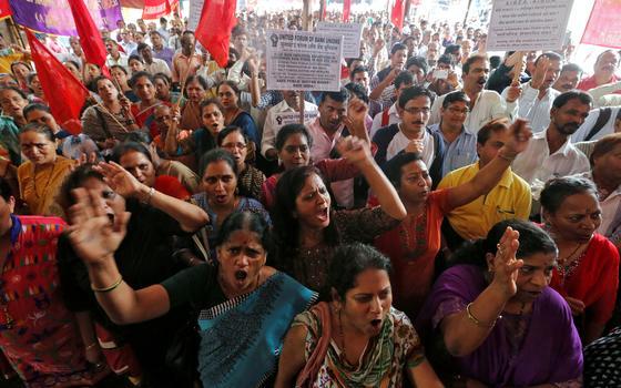 Por que a Índia praticamente parou por um dia
