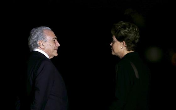 Com tão pouca afinidade, até que Dilma e Temer se reúnem bastante