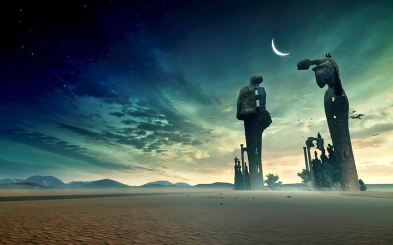 Quadro de Dalí em perspectiva diferente em realidade virtual.
