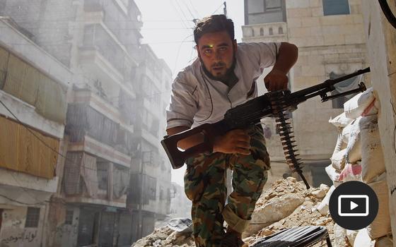 As origens da guerra na Síria