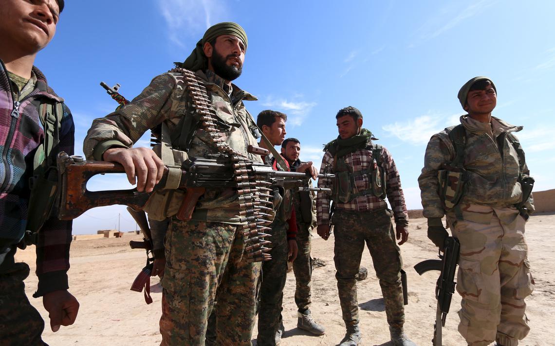 Rebeldes na Síria