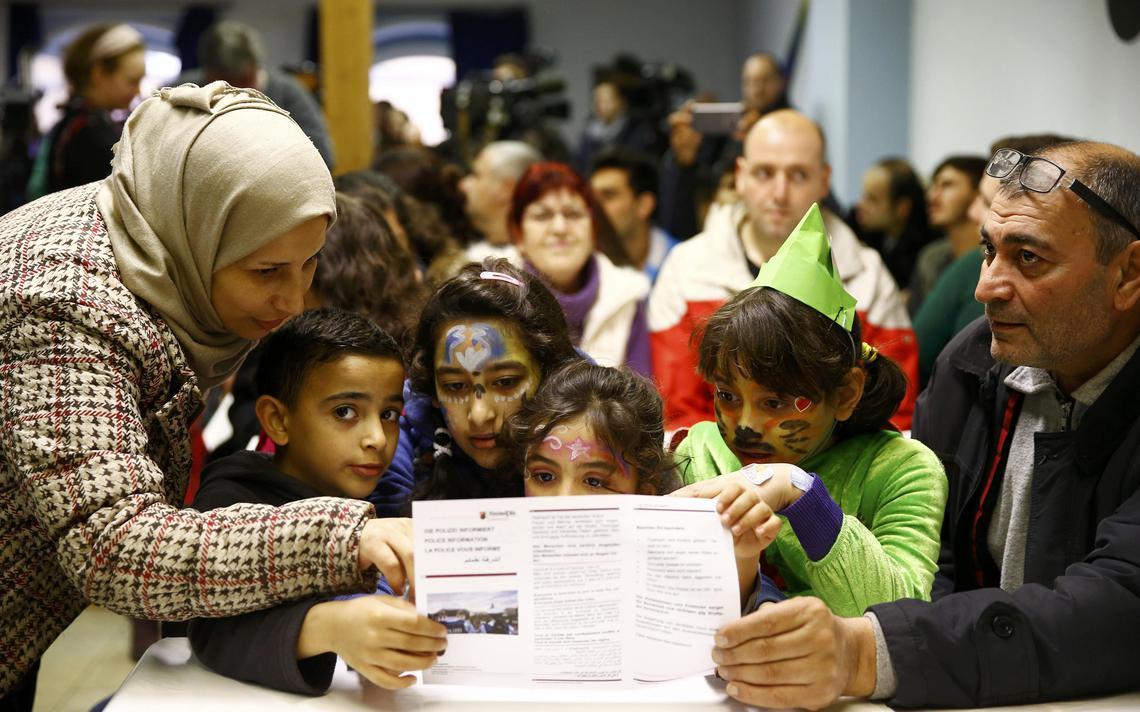 Família síria na Alemanha