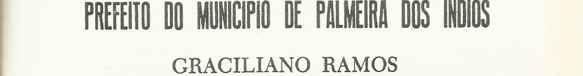 O prefeito Graciliano Ramos e seus relatórios de gestão