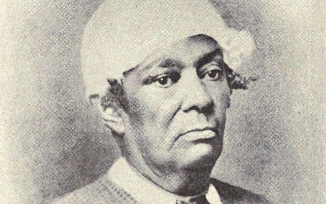 Retrato de Betsey Stockton, que foi escrava de um presidente de Princeton e professora para negros na universidade