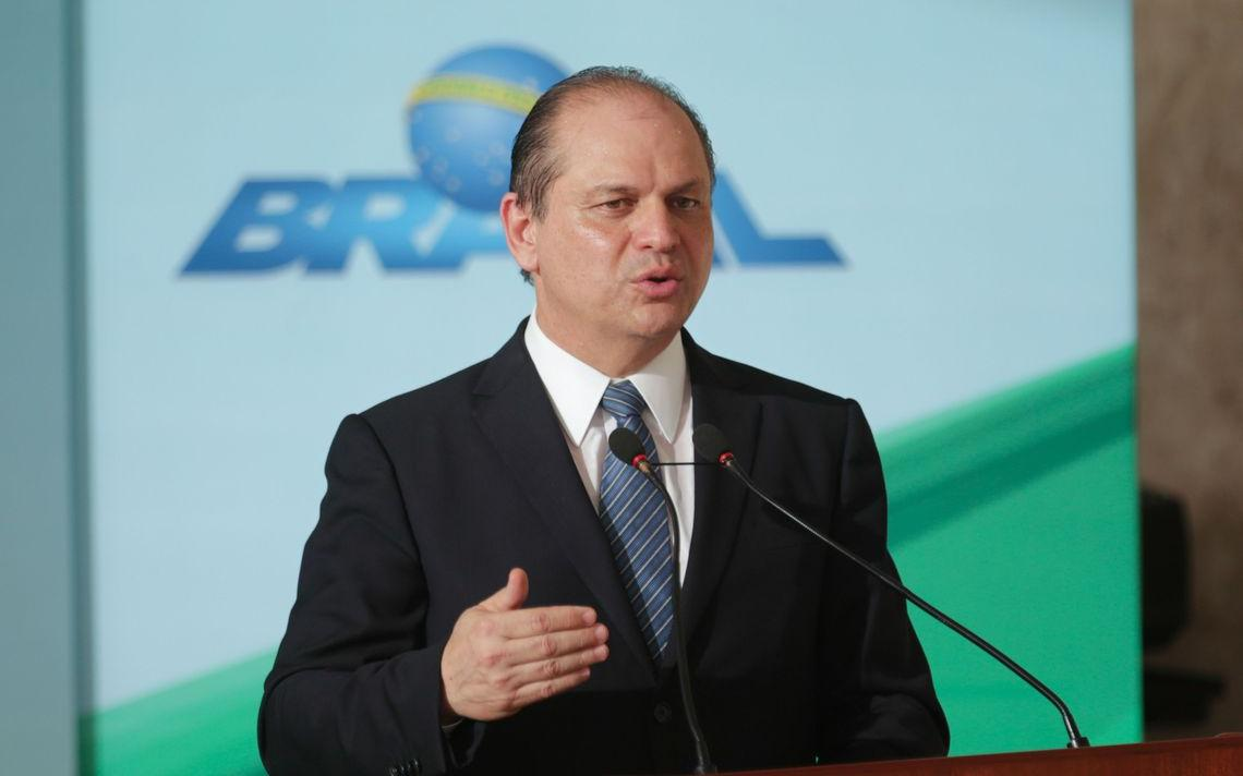 O deputado federal Ricardo Barros, ex-ministro da Saúde e vice-presidente da bancada a favor de mais vagas para internação