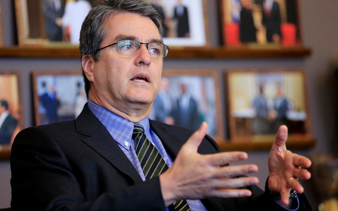 Roberto Azevêdo, diretor-geral da OMC, em entrevista a Reuters