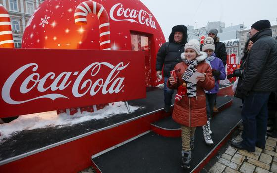 Coca-cola reaviva disputa entre Rússia e Ucrânia. Aqui está a contenda