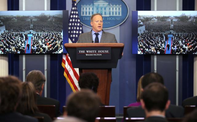 Sean Spicer na Casa Branca