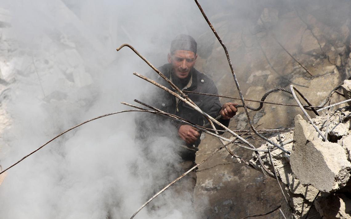 Siria escombros