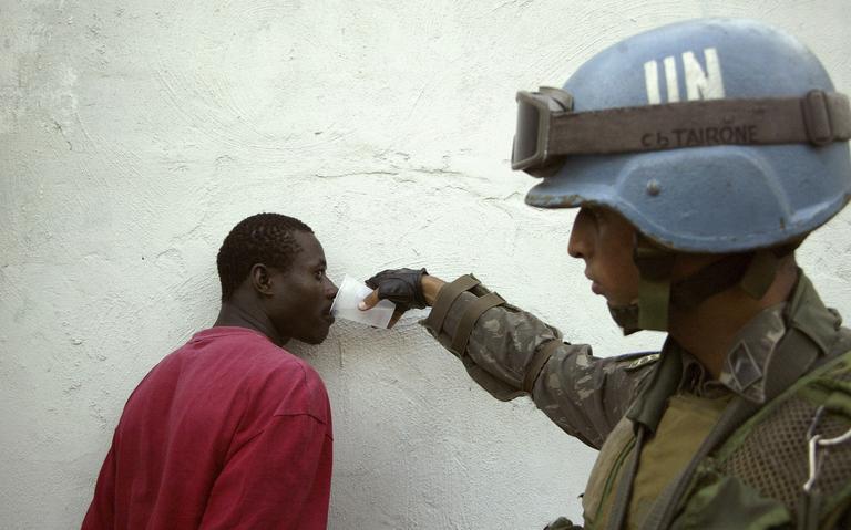 Tropas do Brasil no Haiti
