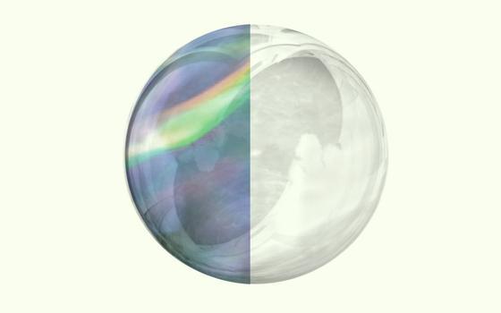 Reflexos e movimento: aqui está o furta-cor