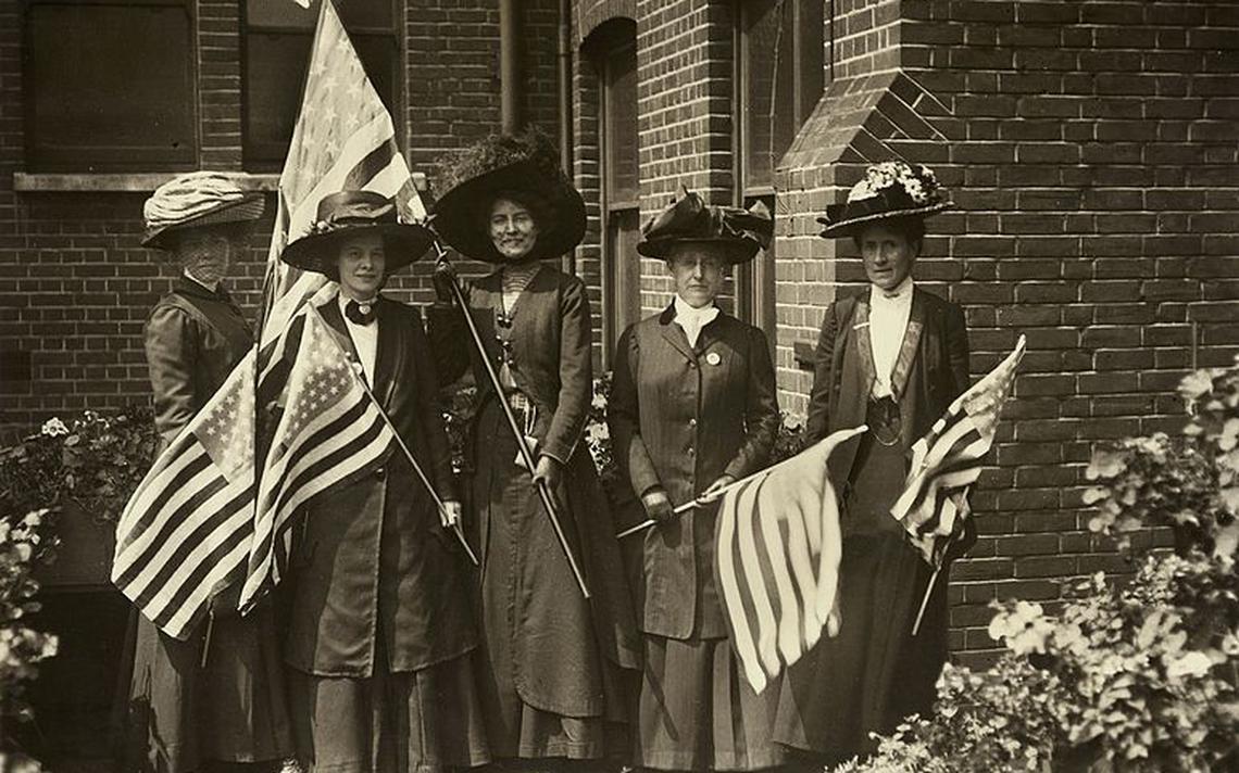 Este arquivo reúne cartas e diários de sufragistas americanas