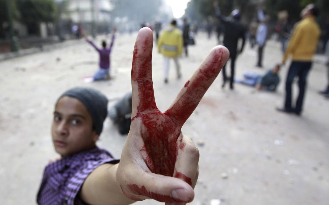 Manifestante Egito