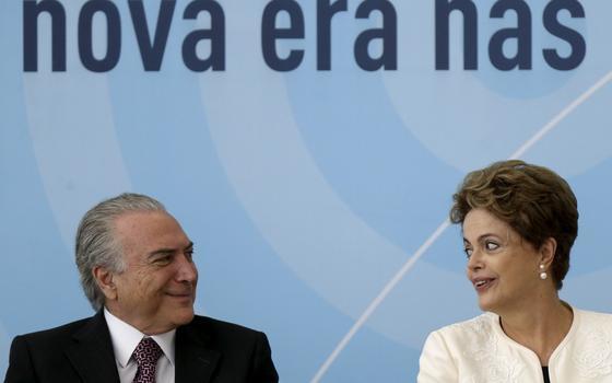 Dilma e Temer falando a mesma língua? Só na Justiça Eleitoral