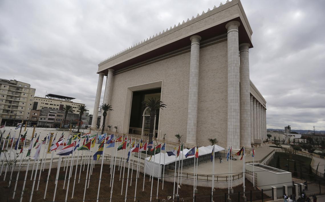 Templo de Salomão, da Igreja Universal do Reino de Deus, em São Paulo