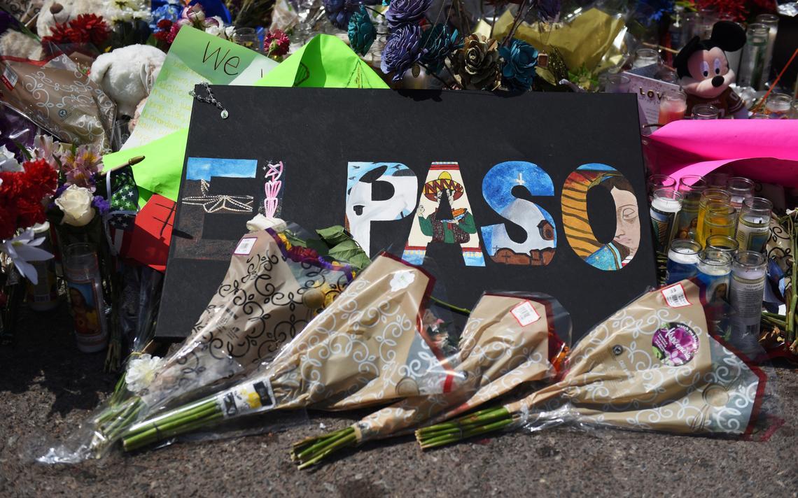 Homenagem a vítimas de tiroteio em El Paso, Texas