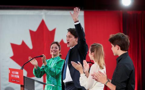 Primeiro-ministro do Canadá ganha eleição para 3º mandato