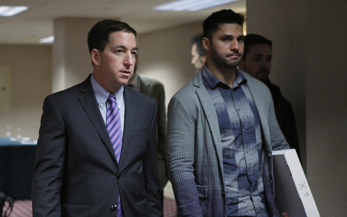 Greenwald e Miranda recebem prêmio em Nova York