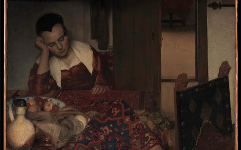 Quadro 'Uma empregada adormecida'