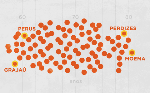A desigualdade na cidade de São Paulo em 20 indicadores