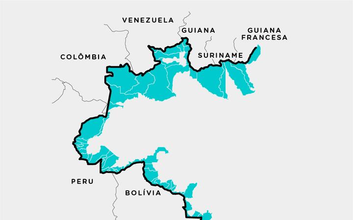 5 dados sobre a fronteira do Brasil com outros países