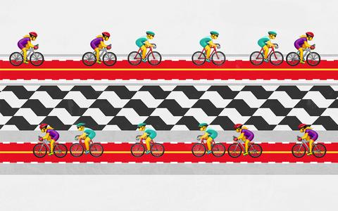 Como estão distribuídas as vias para bicicleta em São Paulo