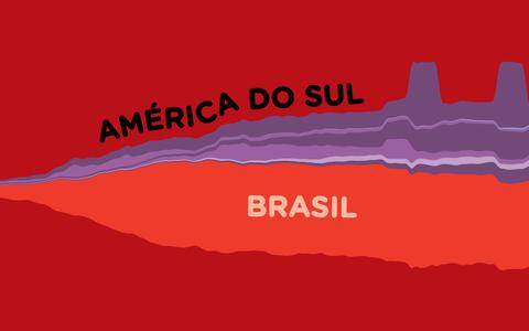 A evolução das mortes por covid-19 na América do Sul