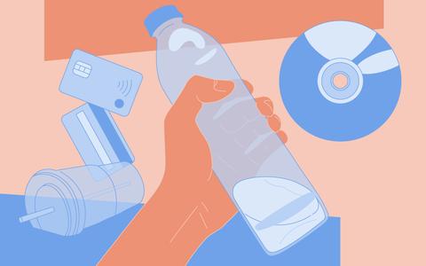 A história ilustrada de um saber: plásticos