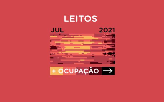 A ocupação dos leitos de covid-19 no Brasil desde 2020