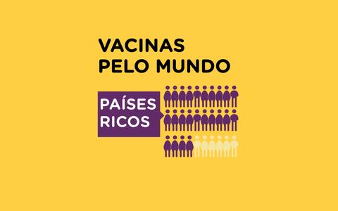 Como está a vacinação contra a covid-19 ao redor do mundo