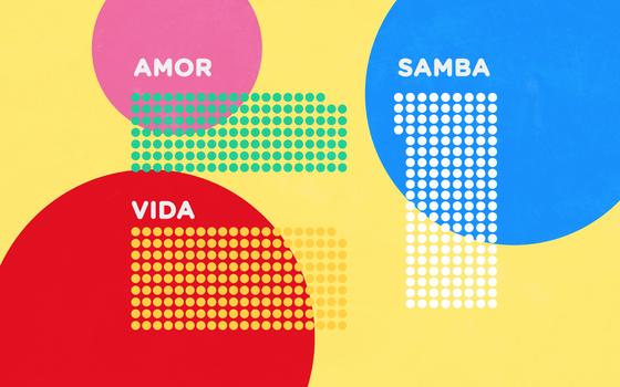 As palavras mais comuns nos sambas-enredos do carnaval do Rio