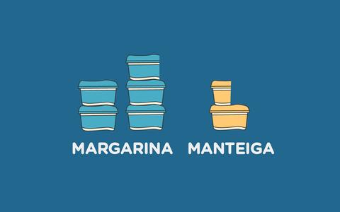 Manteiga ou margarina: qual o brasileiro mais compra