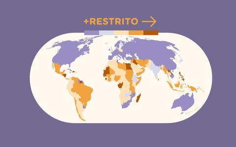 O direito ao aborto e a legislação ao redor do mundo