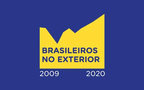 O número de brasileiros no exterior, segundo o Itamaraty