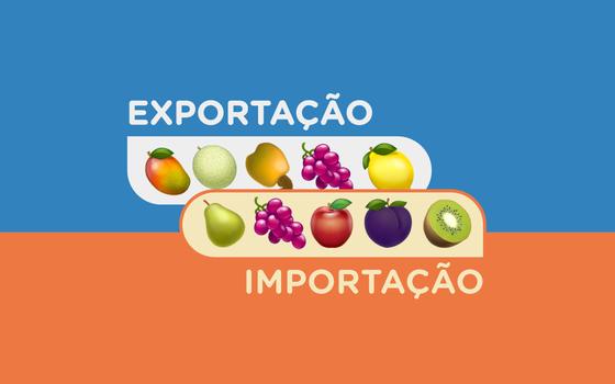 Quais frutas o Brasil importa. E quem come as frutas brasileiras