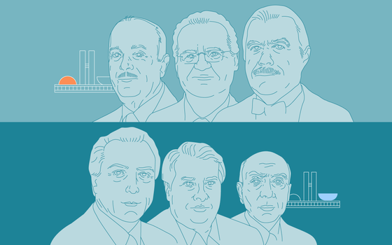 O histórico dos presidentes do Legislativo desde 1985