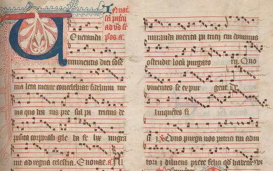 O projeto que digitaliza partituras e gravações de cantos medievais
