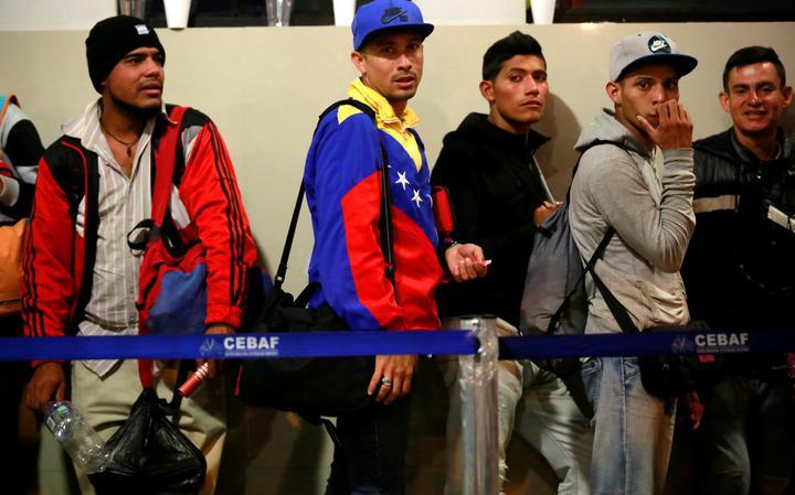 Imigrantes Venezuela