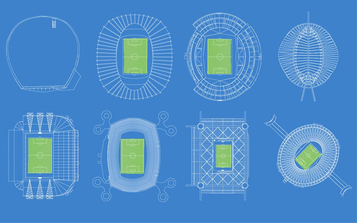 Sabe sobre Copa do Mundo e conhece a arquitetura dos estádios? Teste seu conhecimento neste quiz