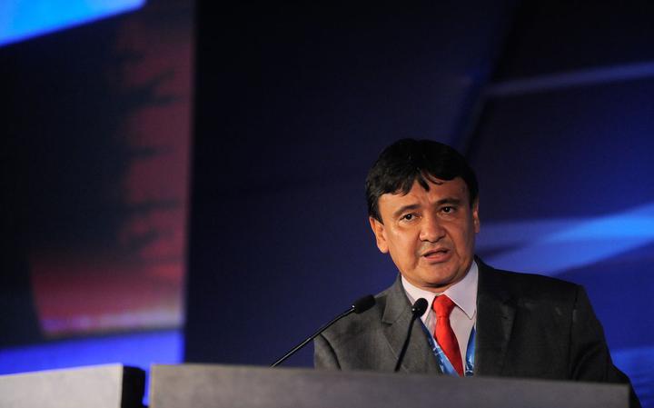 O governador do Piauí Wellington Dias, em 2015. Ele é apontado como beneficiado por rede supostamente paga de apoiadores