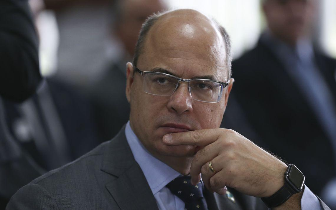 O governador do Rio de Janeiro Wilson Witzel, em reunião do Fórum de Governadores, em março de 2019