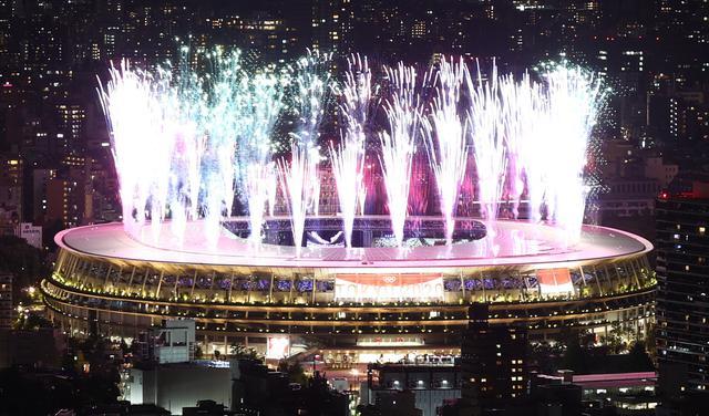 Abertura dos Jogos Olímpicos de Tóquio, em julho de 2021