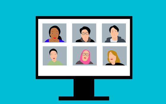 O uso da inteligência artificial em reuniões virtuais