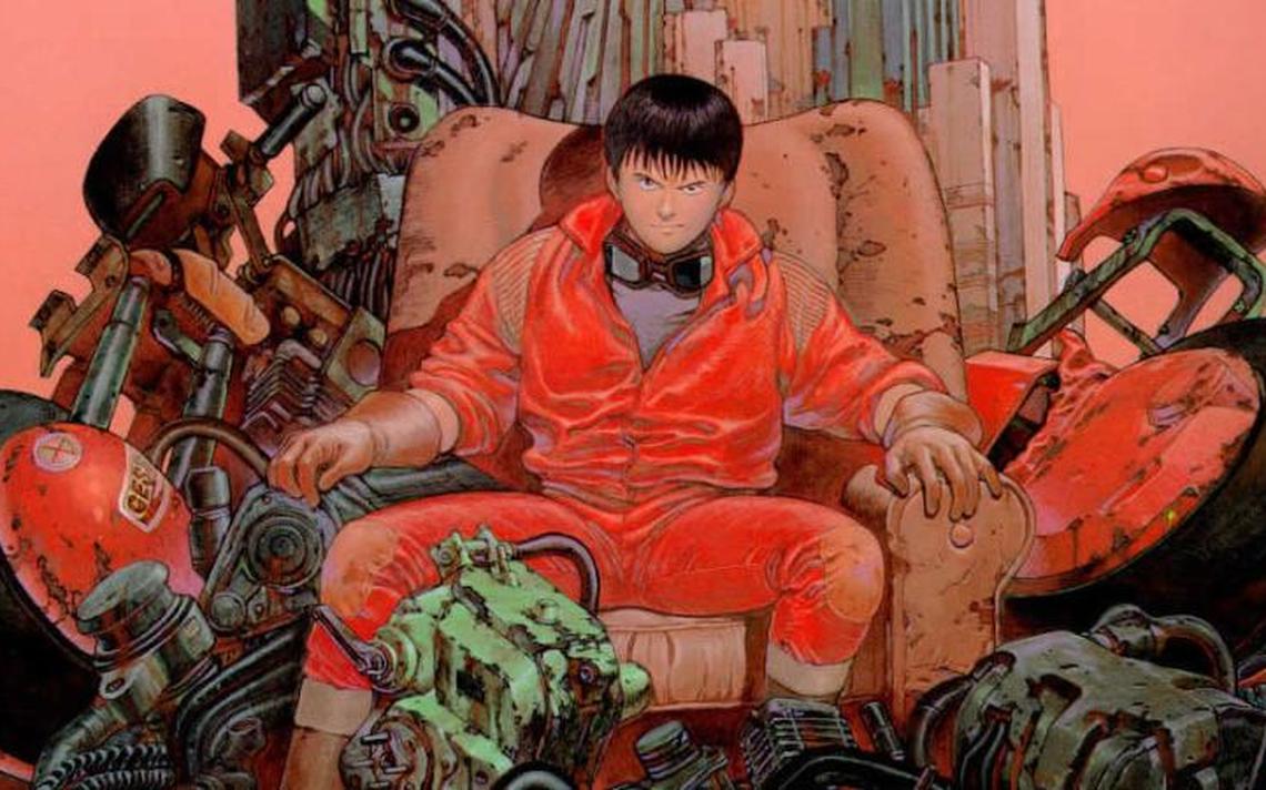 O mangá Akira, ambientado em uma Tóquio pós-apocalíptica