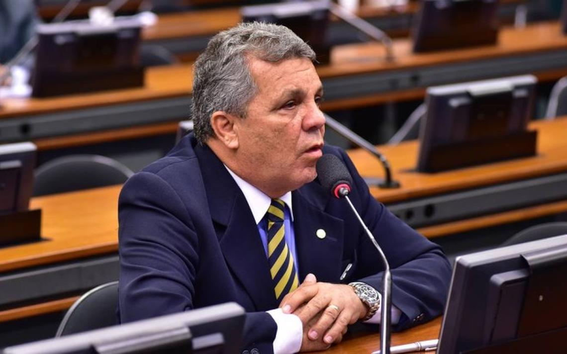 O deputado Alberto Fraga, que presidirá a CPI da Lei Rouanet
