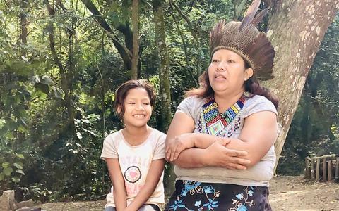 Uma visita online a uma aldeia indígena paulistana