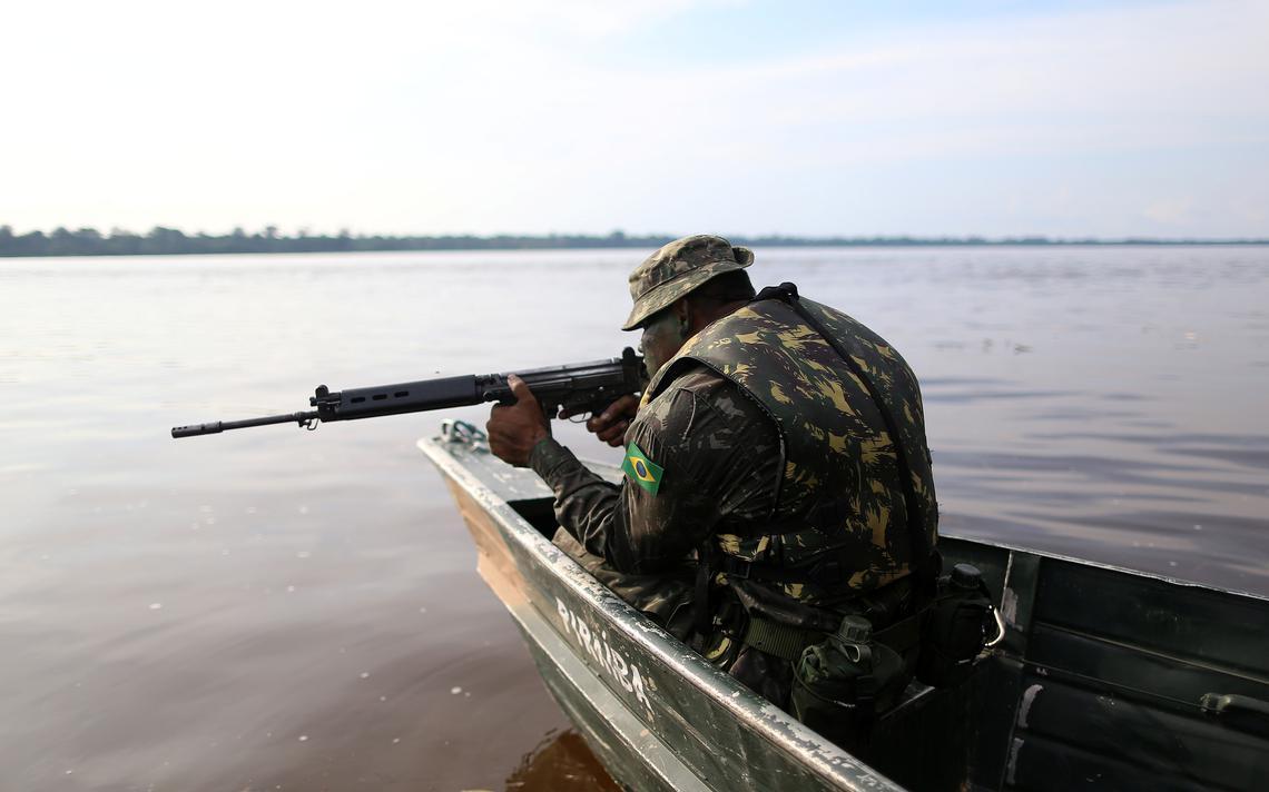 soldado amazônia