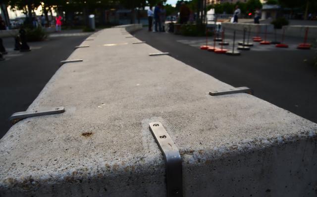 Obstáculo contra skatistas